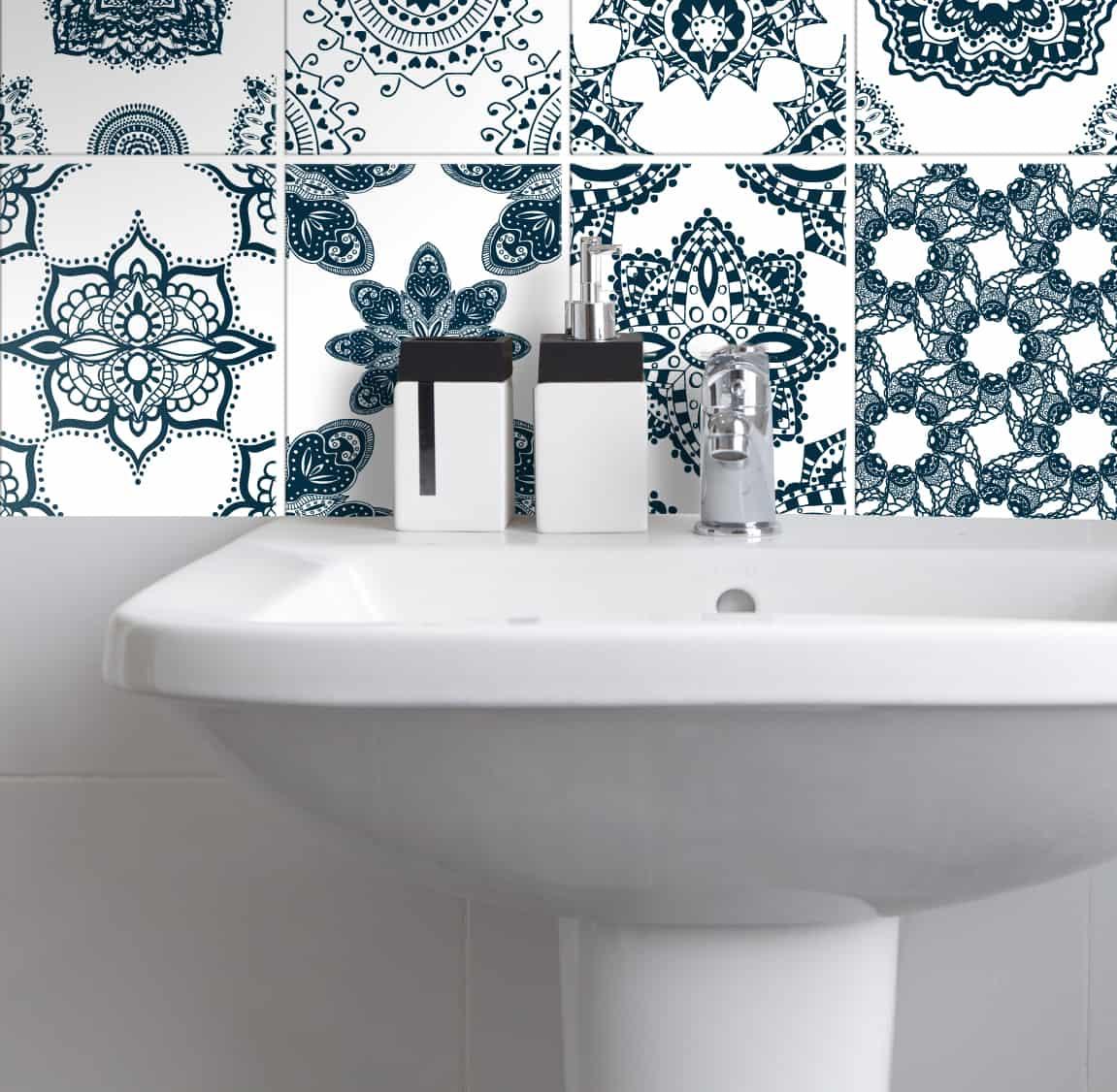 Fliesenaufkleber für Küche und Badezimmer – Spanisch – Wunderwand