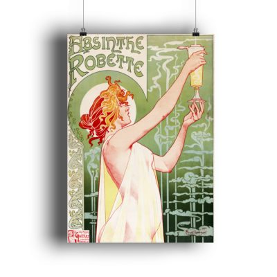 Absinthe Robette - DIN A1 Poster (hochformat)-3
