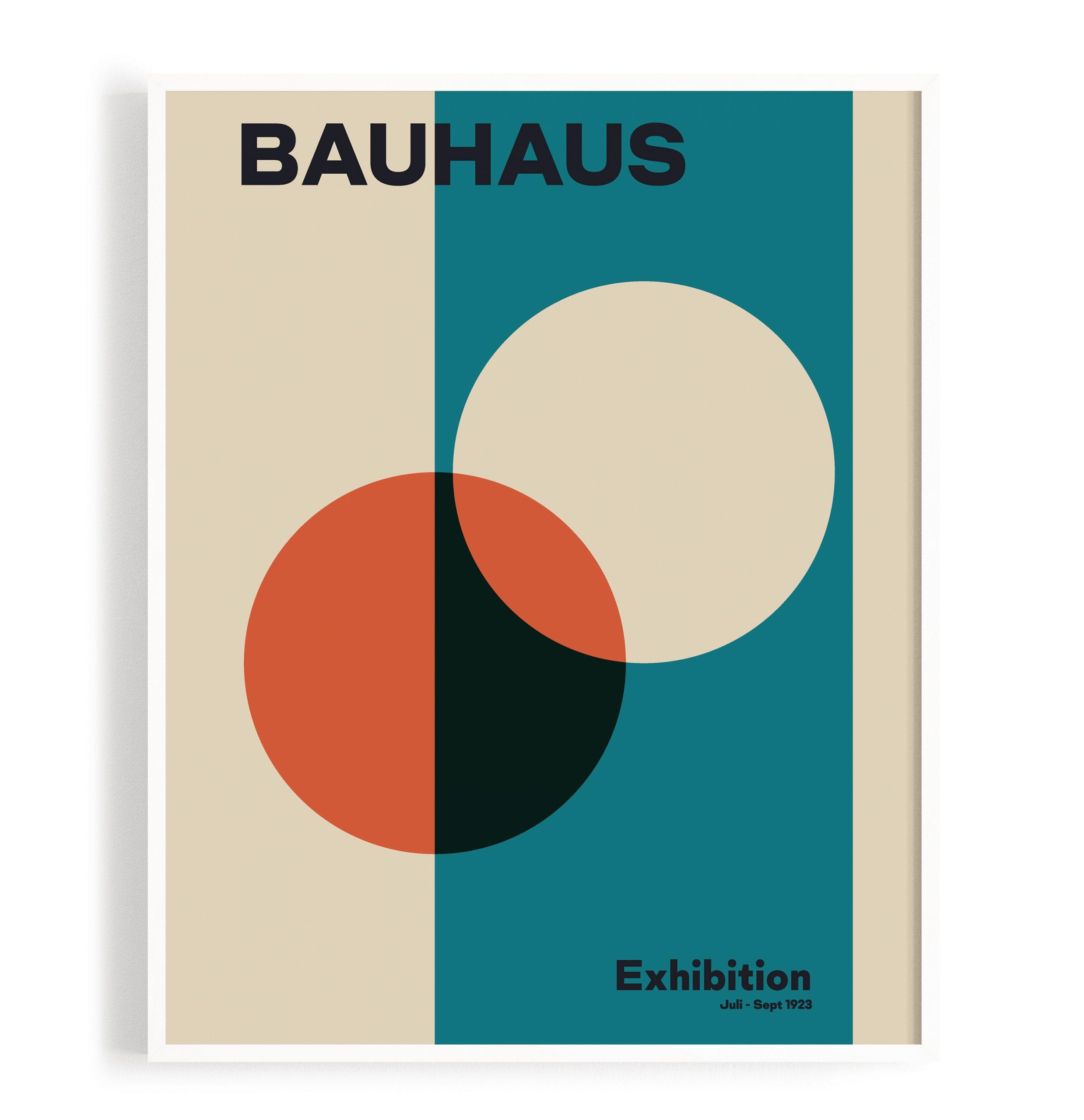 Bauhaus Kunstdruck Poster