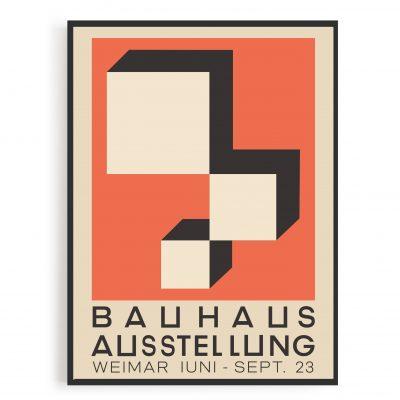 Bauhaus 1923 Kunst Plakat